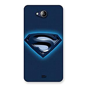 Impressive Blue Day Back Case Cover for Canvas Play Q355