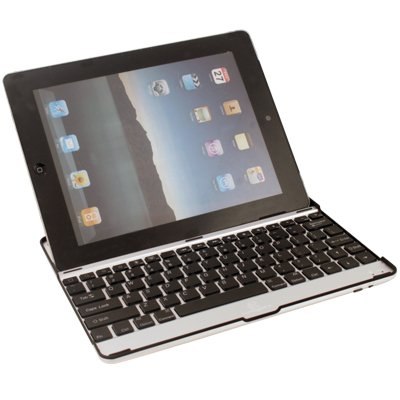 Aluminum Case with Bluetooth Keyboard For Apple iPad 2