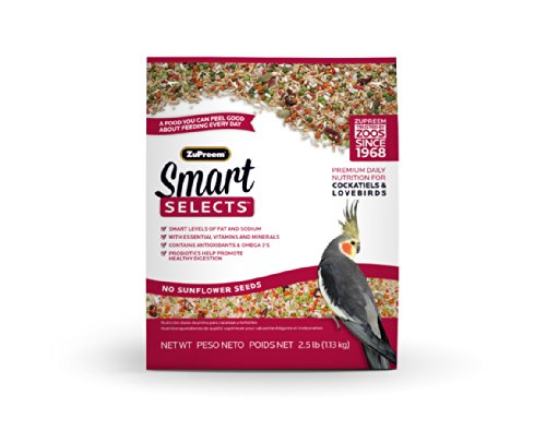 Zupreem Smart Selects Cockatiels & Lovebirds 2.5 Lb