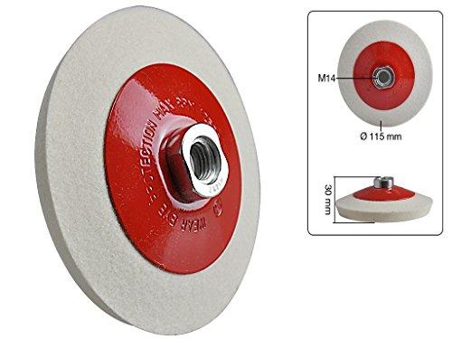 abgeschrgte-Schwabbelscheibe-Filz-115-mm-fr-Metall-Glas-und-Kunststoff