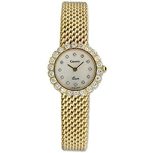 geneve 14k gold mesh womens luxury w1300