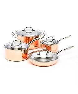 ExcelSteel 546 Professional 8-Piece Triply Cookware Set