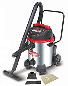Alton AT18008 16-Gallon Stainless Steel Wet/Dry Vacuum Cleaner