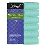 Diane Magnetic Rollers - 1-3/8 Aqua