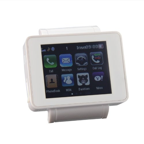 Unlocked 1.8 inch LCD Touch Screen GSM Mobile Phone Watch MP4 Bluetooth FM