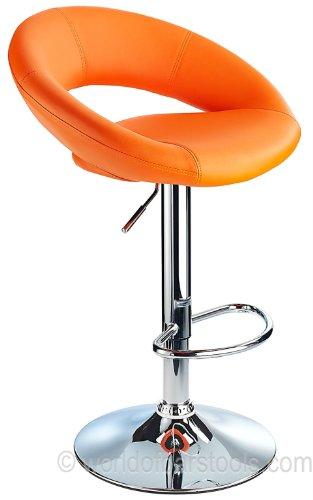 Sorrento Bar Stool Orange