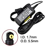 UL Certified Battpit⢠New Laptop / Notebook AC Adapter / Power Supply / Charger for Dell Inspiron Mini 10n (19V 1.58A 30W Laptop Adapter (Fixed U-Tip))