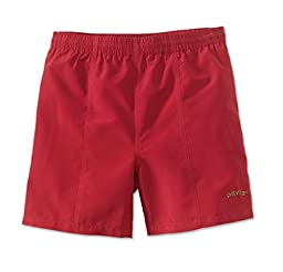 Men\'s Orvis Swim Trunks, Nautical Red, Medium