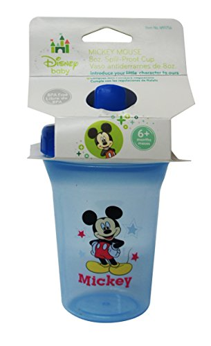 Mickey Mouse Deluxe Spill-Proof Cup - 1