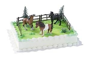 Tortendekoration Pferde