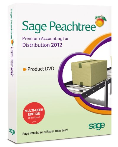 Sage Peachtree Accounting for Distribution 2012 MU
