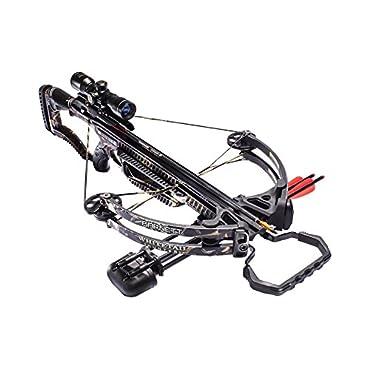 Barnett Whitetail Hunter 160# Crossbow Package 4x32 Scope High Def Camo, 78038