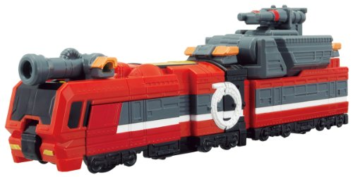 Bandai Ressha Sentai ToQger Train Union Series 10 Fire Ressha