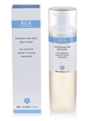 REN Seaweed & Sage Body Wash 200ml