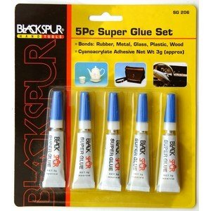 3g Tube of Super Glue Pack Of 5