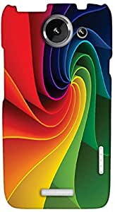 Timpax protective Armor Hard Bumper Back Case Cover. Multicolor printed on 3 Dimensional case with latest & finest graphic design art. Compatible with only HTC one X+ ( Plus ). Design No :TDZ-20331