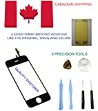 NEW REPLACEMENT IPHONE 3GS GLASS DIGITIZER WITH 6 PIECE TOOL SET