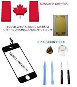 NEW REPLACEMENT IPHONE 3G GLASS DIGITIZER WITH 6 PIECE TOOL SET