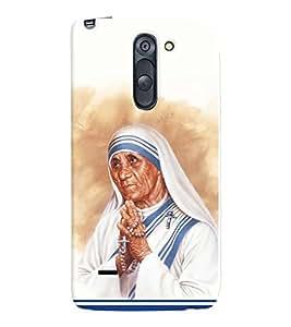 printtech Mother Teresa Back Case Cover for LG G3 Stylus::LG G3 Stylus D690N::LG G3 Stylus D690