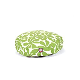 Sage Plantation Small Round Indoor Outdoor Pet Dog Bed With Removable Washable Cover By Majestic Pet Products