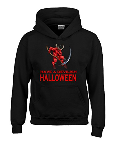 Satan Devil Have A Devilish Halloween Costume - Kids Hoodie