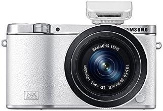 Samsung NX3000 Fotocamera a Ottiche Intercambiabili, Sensore CMOS APS-C 20.3 Megapixel, Obiettivo 20-50mm F3.5/5.6, Bianco