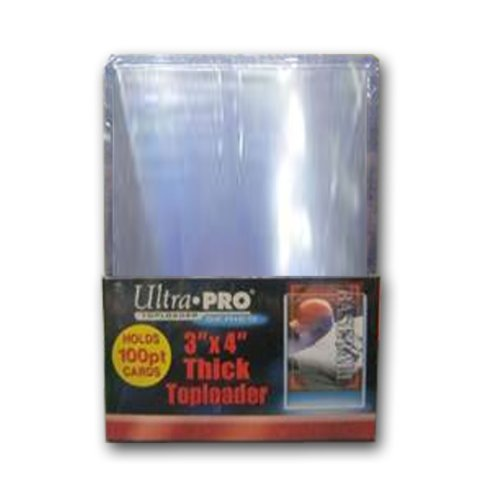 Ultra Pro 3 x 4 Super Thick 100 Point Top Loader (25 pack)