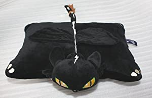 CAFA 15' How To Train Your Dragon Toothless Night Fury Plush Cushion Pillow by Alice Co.,ltd