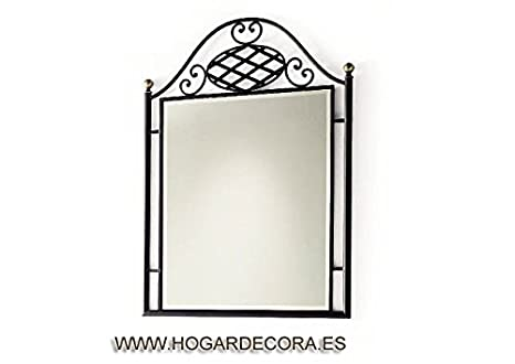 Wrought iron mirror VERONICA Model