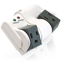 CTA Digital MI-R3135 3-Outlet Mini Surge Protector