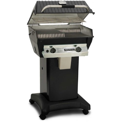 Broilmaster R3 Infrared Propane Gas Grill On Black Cart