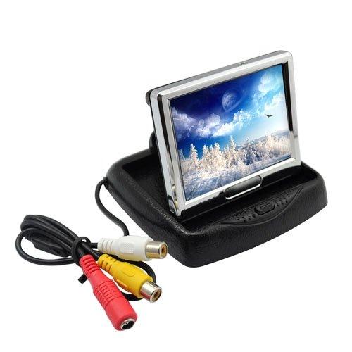 "Wisedeal 3.5"" Inch Tft Lcd Ntsc/Pal Foldable Car Monitor Screen Cctv Camera Dvd Vcr"