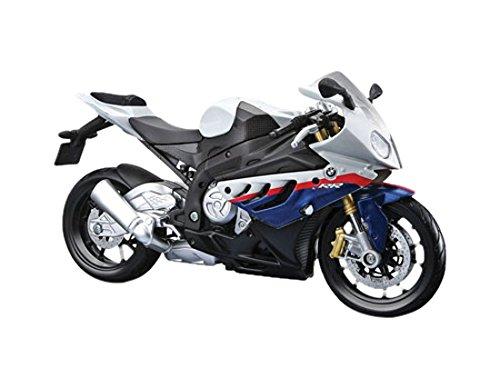 Maisto Model Kit BMW-Motorrad S100RR - 1:12 Weiß / Blau - Neue