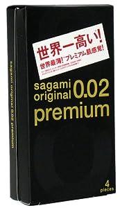 サガミオリジナル 0.02 プレミアム 1箱4個入