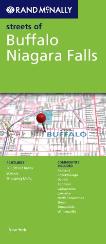 Rand McNally Streets of Buffalo, Niagara Falls, New York
