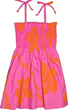Little Lei Girl39s Elastic Tube Top Hawaiian Sundress
