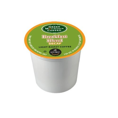 Green Mountain Coffee Breakfast Blend Decaf, K-Cup For Keurig Brewers, 24 Count (Pack Of 2)