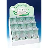 Frosted Leap Frog Assorted Frogs Model Figure Figurine Collection Set