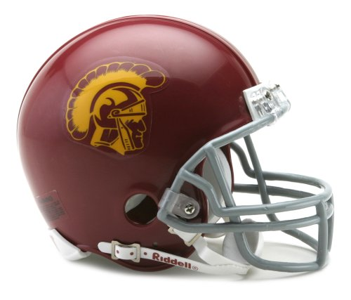 NCAA USC Trojans Replica Mini Football Helmet