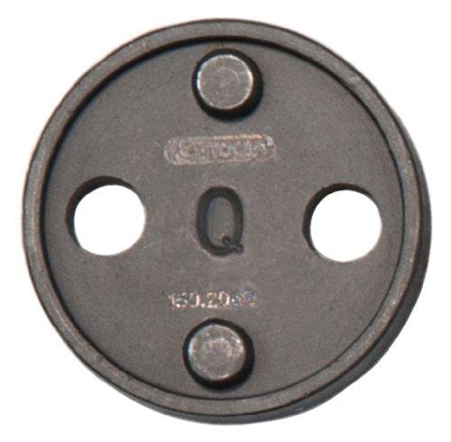 KS Tools 150.2062 - Adattatore Q per utensile per la lavorazione dei pistoncini dei freni, Ø 30 mm