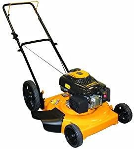 Poulan Pro PR550N22SH 22-Inch 140cc Briggs and Stratton 500 Series Gas Powered Mulch/Side Discharge Push Lawn Mower With High Rear Wheels (Discontinued by Manufacturer)