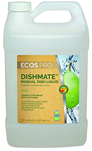 earth-friendly-products-proline-pl9720-04-dishmate-pear-ultra-concentrated-liquid-dishwashing-cleane