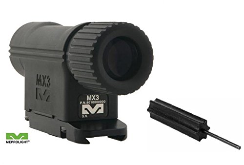 Meprolight The Mako Group Mx3 3X Magnifier For Reflex And Red Dot Sights + Ultimate Arms Gear Pro Disassembly 3/32 Pin Punch Armorers Gunsmith Tool