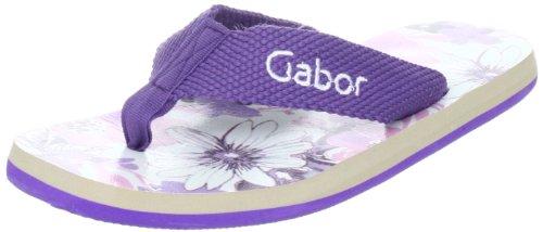 Gabor Home GA1007lil, Sandali donna, Viola (Violett (lila)), 36
