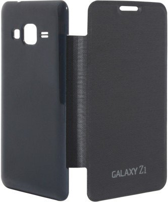 Generic Flip Cover For Samsung Galaxy Z1 (Black)