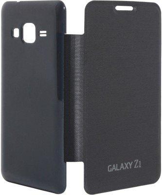 Generic Flip Cover For Samsung Galaxy Z1 (Black)