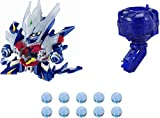 Takara Tomy Cross Fight B-Daman CB-72 Rising Dracyan CB-54 Cyclone Magazine and CB-21 B-Dama (Pack of 3)