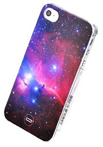 Circle Case TM > Espace Galaxie Univers Nebuleuse I LOVE Mustache Infini Coque pour iPhone 4