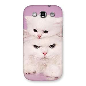 Special Kitty Family Back Case Cover for Galaxy S3