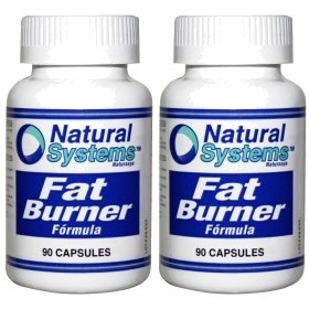 Natural Systems 2 Pack Fat Burner Chromium Picolinate Plus 2X90 Caps Weight Loss